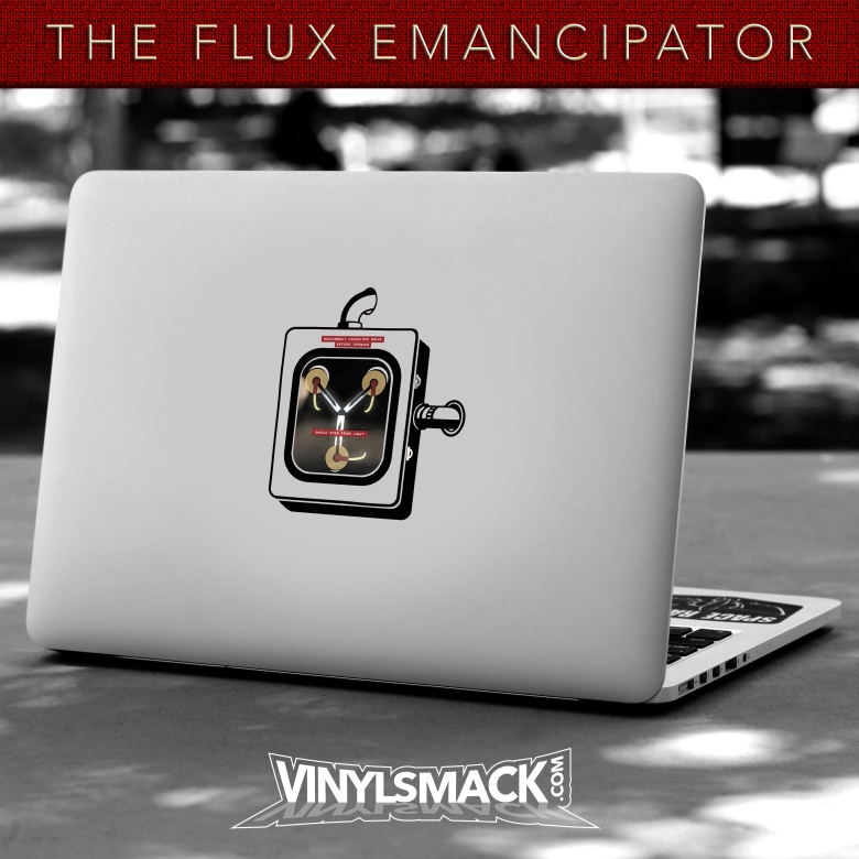 Flux Emancipator on Outdoor Table - Square - Light